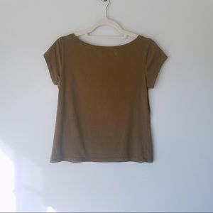 Eileen Fisher | Olive Top